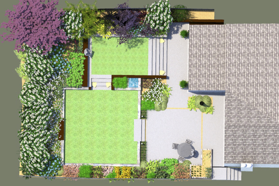 Garden Design Ideas Glasgow : A contemporary garden design in glasgow scotland the