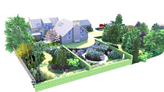 East lothian garden design commission, twig garden design, edinburgh, Scotland