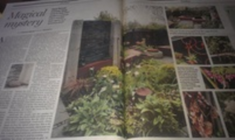 Twig Garden Design feature in Scotland on Sunday the