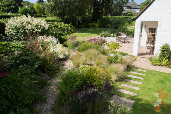 Edinburgh cottage garden - Scottish garden design ...